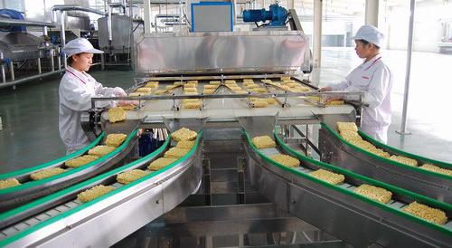 速食品生产车间